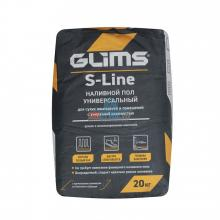 Наливной пол универсальный Glims S-Line, 20 кг