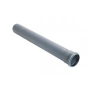Канализационная труба 50 мм длина 1 м