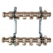 Гребенка для отопительных приборов Oventrop Multidis SH, на 6 контуров