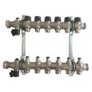 Гребенка для напольного отопления Oventrop Multidis SF, на 6 контуров