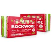 Утеплитель Rockwool Лайт Баттс Скандик, 800x600х50 мм (12 плит/5.76 м2)
