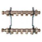 Гребенка для отопительных приборов Oventrop Multidis SH, на 7 контуров