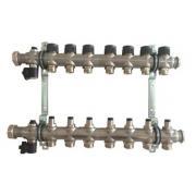 Гребенка для напольного отопления Oventrop Multidis SF, на 7 контуров
