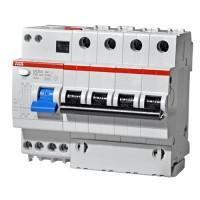DS204 AC-C25/0,03 6мод. ABB 4-полюсный Дифференциальный автомат