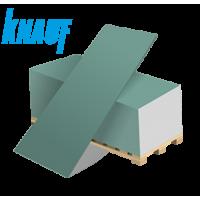 2500х1200х9.5мм Гипсокартонный лист Knauf влагостойкий