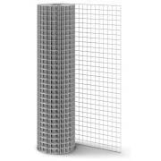 Сетка 50x50 сеч.2,5мм 1,5х15м сварная неоцинкованная