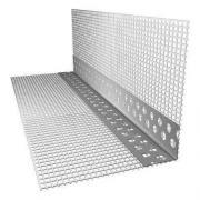 Уголок 100х150x2500 ПВХ перфорированный с сеткой