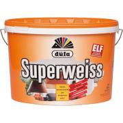 Краска интерьерная Dufa Superweiss (белая), 10 л