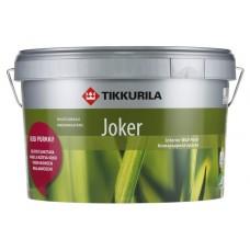 Краска интерьерная акрилатная Tikkurila Jocker C (полупрозрачная), 9 л