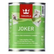 Краска интерьерная акрилатная Tikkurila Jocker A (белая), 0,9 л