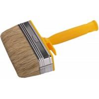 Кисть макловица с пластиковой рукояткой и натуральной щетиной, 170 мм