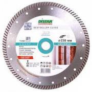 Диск алмазный сплошной Distar Turbo Universal, 125х22,2 мм