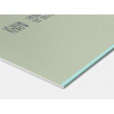 2500х1200х12,5мм Гипсокартонный лист Knauf влагостойкий